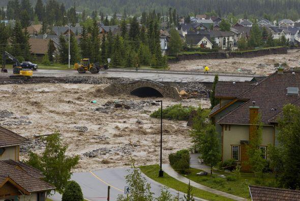 El Servicio Meteorológico de Canadá informó que el...