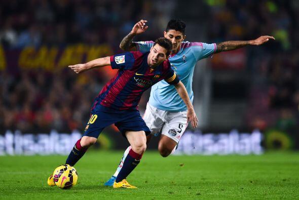 Ahí vino un bache para el argentino y el propio Barcelona pues en la fec...