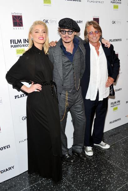 Johnny Depp y Amber Heard se conocieron cuando filmaron la cinta 'The Ru...