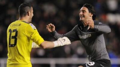 El argentino Colotto salvó un punto para el Espanyol gracias a su gol de...