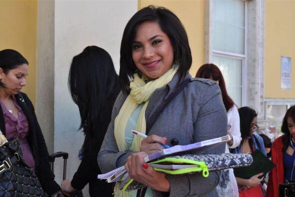 Esta joven es de la India aseguró tener el corazón latino.