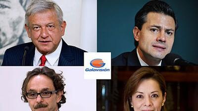 Candidatos Debate Presidencial México