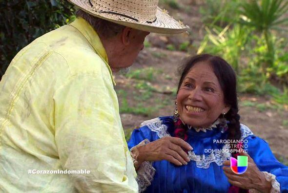 """Era una mujer ocurrente que, al abuelito de """"Maricruz"""" le andaba echando..."""