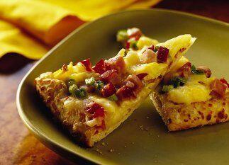 """PIZZA DE JAM""""N Y QUESO SUIZO - La pizza no sólo fue hecha para comer en..."""