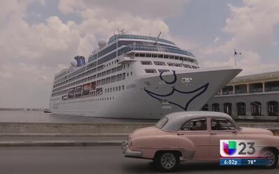 De camino a Cienfuegos pasajeros del crucero Adonia