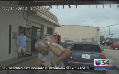 ¿Policía atacó a anciano de 76 años?