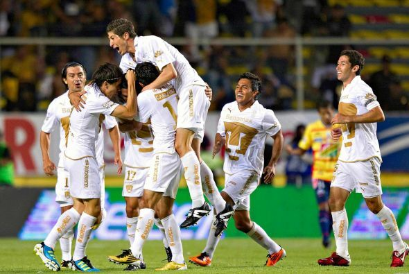 En el Clausura 2011 los de la UNAM mantendrían el invicto tras 4 jornada...