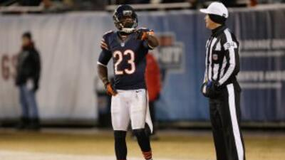 Devin Hester sigue sin equipo (AP-NFL).