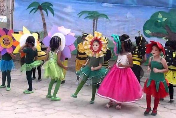 Cual niños disfrazados en el kinder. Todo sobre el Mundial de Bra...