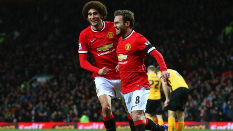 El español Juan Mata se hizo presente entre los anotadores del United, q...