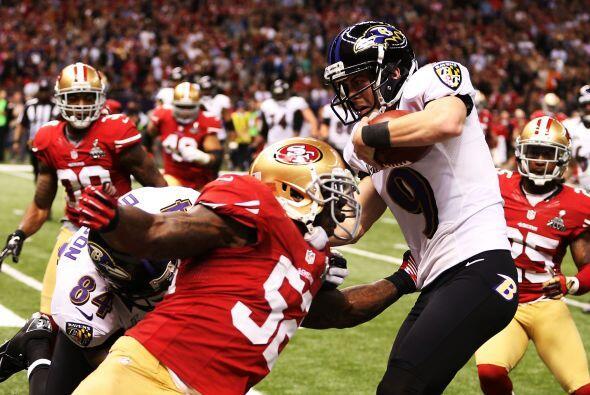 En esta ocasión  el error no les costó, los Ravens en cuarta oportunidad...