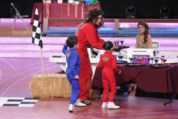 Saraí acompañó a Bianca durante la segunda etapa de...