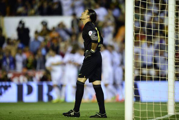 El portero Pinto sabía que influyó en el gol al no desviar...