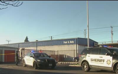 Sospechoso fue baleado por alguaciles en Rancho Cordoba