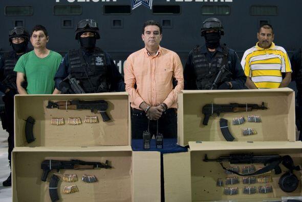 Se desconoce si Fernández Valencia, quien fue detenido en Culiacán, en e...
