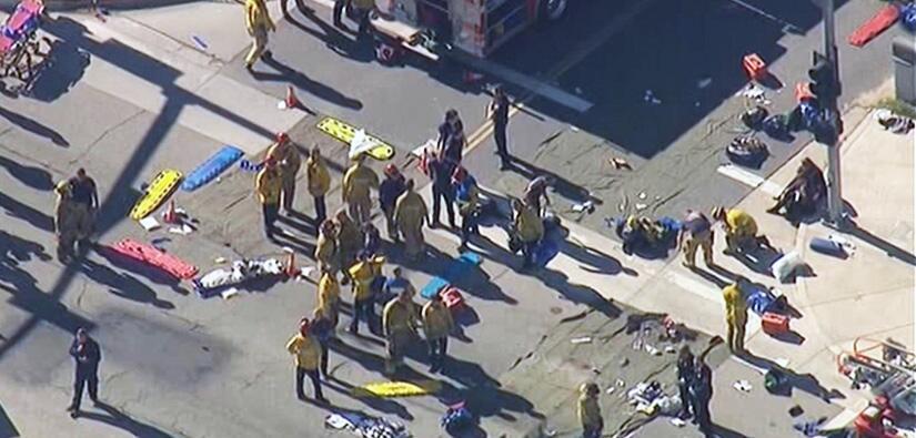 Imágenes del tiroteo en San Bernardino. California