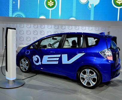 Debut eléctricoHonda presentó el totalmente nuevo vehículo eléctrico Fit...