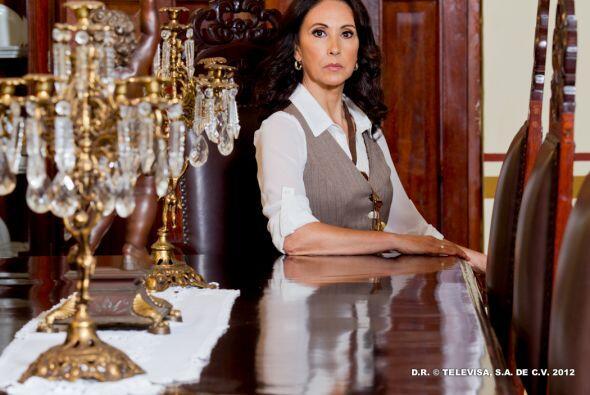 """La actriz interpretaba a """"Alfonsina"""" en """"Abismo de Pasión"""" de manera imp..."""