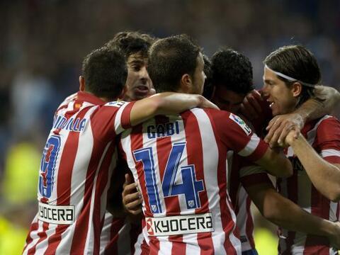 Atletico de Madrid le ganó al Real Madrid en el 'Santiago Bernab&...