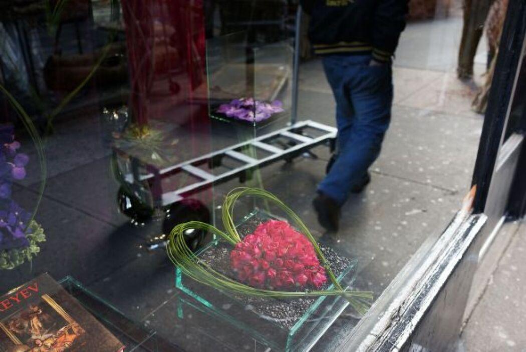 En Nueva York no podían faltar los festejos del día de San Valentín.