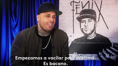 "Nicky Jam dice que J Balvin está celoso de su ""bromance"" con Vin Diesel"