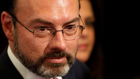 """Videgaray: """"México no tiene por qué aceptar disposiciones que un gobiern..."""