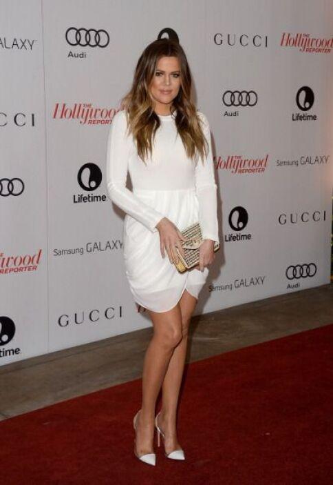 Recientemente la vimos llegar a un evento en Beverly Hills más hermosa q...