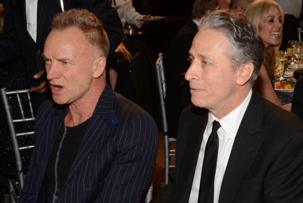 Cuando hicieron el homenaje a Bruce Springsteen, Sting y John Stewart es...