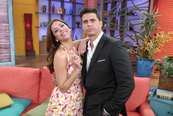 Pedro Moreno y Lourdes Stephen aprovecharon para felicitar a Ana por su...