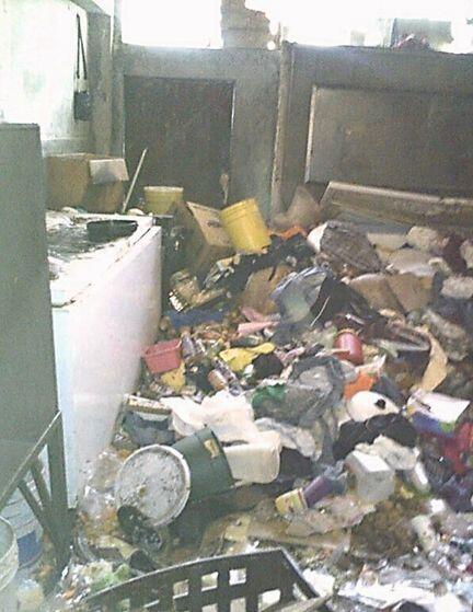 En el lugar hallaron 20 toneladas de basura, según el procurador...