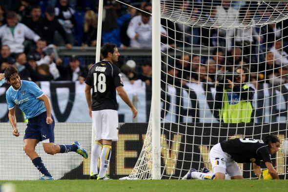 Lazio no quería quedarse atrás de las primeras posiciones...