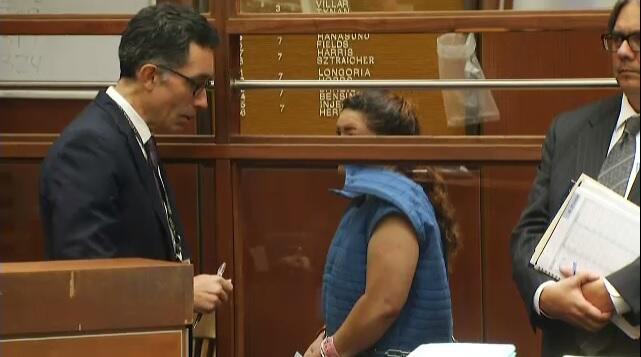 Verónica Aguilar se declara no culpable de la muerte de su hijo Yónatan.