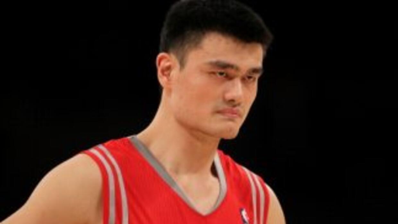 Yao Ming fue elegido ocho veces para participar en un 'All Star'.