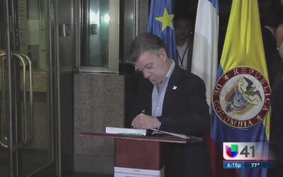Colombia, lista para firmar acuerdo con las FARC