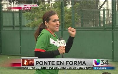 Erika Flores se convirtió en estrella de fútbol