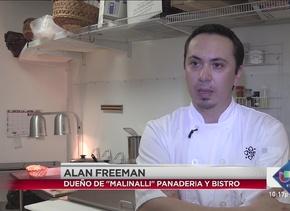 Alan levantó un negocio con sabor a México