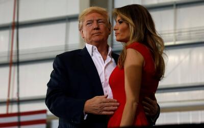 Donald y Melania Trump serán los anfitriones de su primera gran fiesta e...