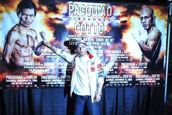 Cotto también buscará ganar a Pacquiao el derecho a ceñirse el primer ce...
