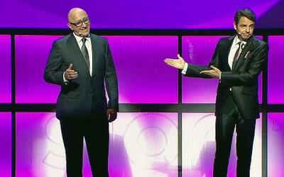 Eugenio Debez hizo reir a todos en le Upfront de Univision