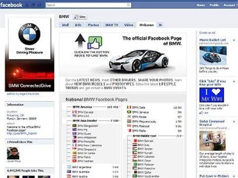BMW a la cabeza La industria automotriz no se queda afuera del mundo Fac...