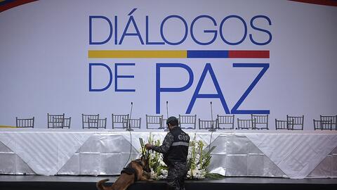 El inicio de las conversaciones entre el gobierno de Colombia y la guerr...