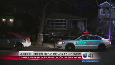 Mujer muere en incendio en Brooklyn