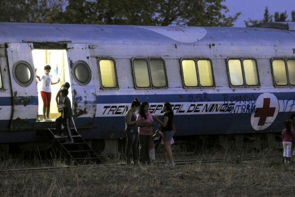 Un pueblo de la provincia argentina de Santiago del Estero recibió el tr...