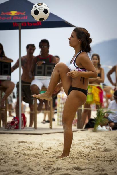 'Altinha' es un deporte inclusivo ya que hay juegos mixtos donde hombres...