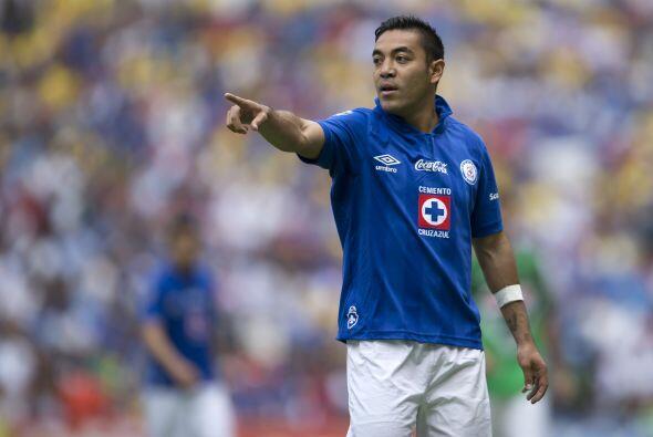 Marco Fabián ha resurgido con el Cruz Azul, el volante ofensivo t...