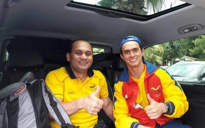 La Federación Colombiana de Gimnasia confirma que Jossimar Calvo está bien.