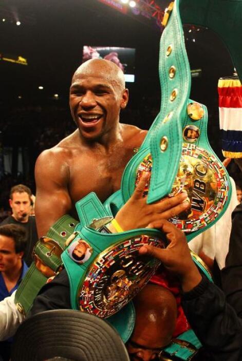 Lugar 1: Increíblemente el primer puesto lo ocupa el boxeador estadounid...