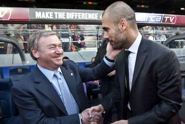 Para esto, el Barcelona de Josep Guardiola enfrentó al Valladolid de Jav...