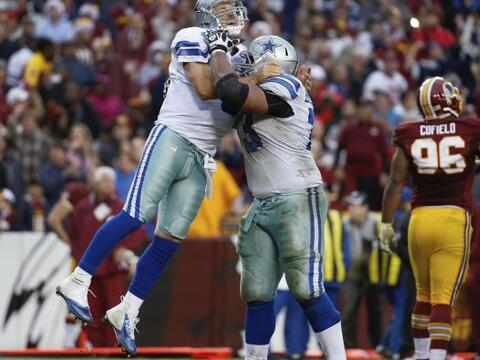 ¡Los Cowboys respiran! vencieron 24-23 a los Redskins en Washington (AP-...