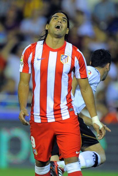 Radamel, ahora con el Atlético de Madrid español, tuvo un...